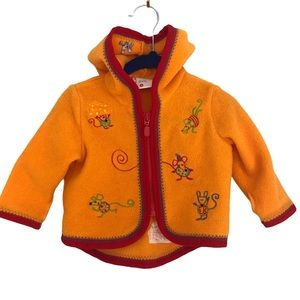 RARE Hanna Andersson Baby Mouse Cardigan